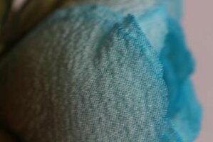 コサージュ結婚式入学式卒業式フォーマルヘアアクセサリー和装【smtb-k】【ky】【楽ギフ_包装】☆送料無料☆シルク100%☆☆手作りならではの美しい色☆ちりめん染花コサージュ≪バラ空色(小)≫
