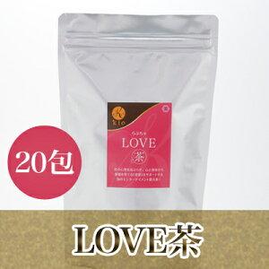 LOVE茶 20包(薔薇・サンシュユ・丁子・枸杞の実・連銭草・甜茶・薄荷)【10P24Dec1…