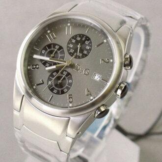 D & G TIME d & g SANDPIPER chronograph SS belt watch 3719770123 fs3gm5P13oct13_a10P18Oct1310P28Oct13