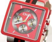 D&G TIME ドルチェ&ガッバーナ CREAM クロノグラフ腕時計 DW0064 レッド×ブラック【ラッピング無料】【楽ギフ_包装】【10P11Mar16】【05P03Dec16】