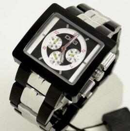 D&GTIMEドルガバCREAMクロノグラフ腕時計DW0059ブラック