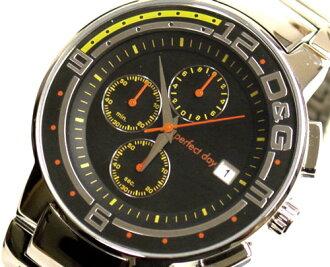 D & G TIME d & g BIG FISH Chronograph Watch DW0119 SS belt 10P01Sep1310P13Sep1310P25Sep13