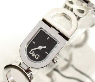 D & G TIME-DAY &NIGHT ladies SS belt wristwatch DW0143