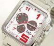 D&G TIME ドルチェ&ガッバーナGERONIMO クロノグラフ SSベルト時計 シルバー DW0185【ラッピング無料】【楽ギフ_包装】【10P11Mar16】【05P03Dec16】