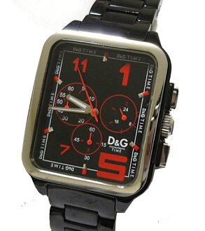 D&G TIME ドルガバ GERONIMO men chronograph watch SS belt DW0186 fs3gm05P10Nov13