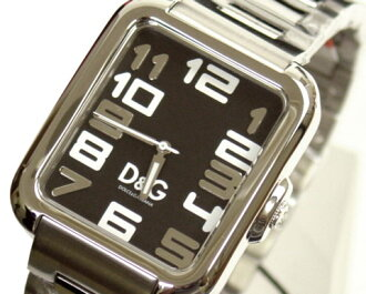 D & G TIME die and say APACHE mens watch DW0189 SS belt