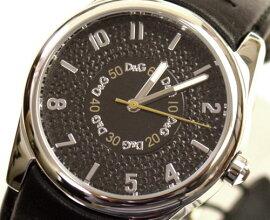 D&GTIMEドルガバSANDPIPERロゴフェイス時計DW0261ブラック