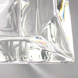 ブルガリ[BVLGARIBVLGARI]灰皿角型エキセントリカ14cm47514