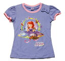 【まとめ割り対象商品】【メール便送料無料】Disney(ディズニー)Sofia the First Regular Topちいさなプリンセス ソフィア Tシャツ ライトパープル【子供服 6歳 8歳 10歳】