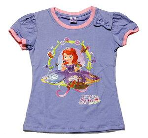 ディズニー プリンセス ソフィア Tシャツ ライトパープル
