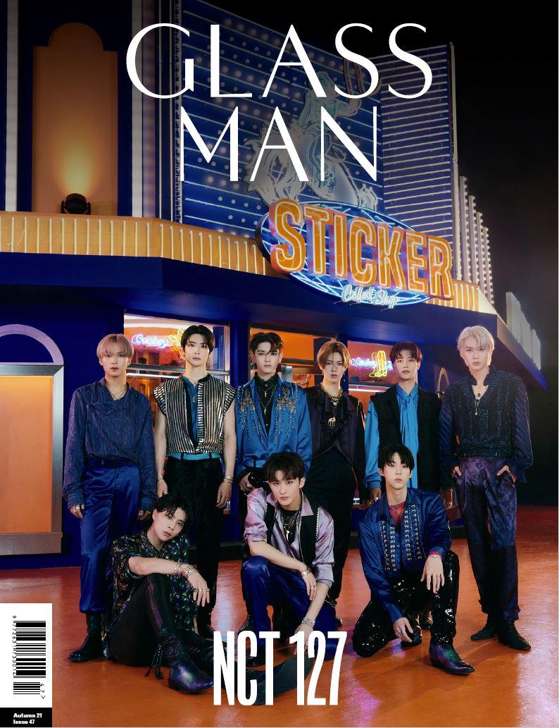 CD, 韓国(K-POP)・アジア  GLASS MAN 2021.11 :NCT 127