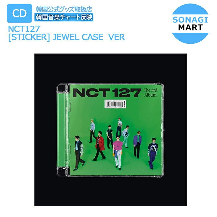 CD, 韓国(K-POP)・アジア  NCT127 310 Sticker (Jewel Case Ver) 1