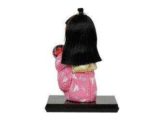 ギフトに最適な木目込み人形No.1022-B【つづみのまりもち】布付き手芸キット