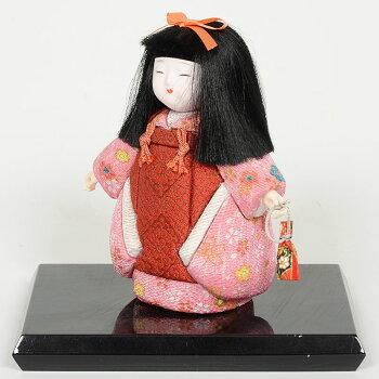 木目込み人形No.1037-C【被布市松】桐塑ボディ手芸キット