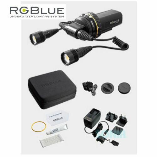 RGBlue(アールジーブルー) System03L-PC TWIN LIGHT PREMIUM COLOR システム03L ツインライト プレミアムカラー LEDライト(水中ライト・同梱品含む)
