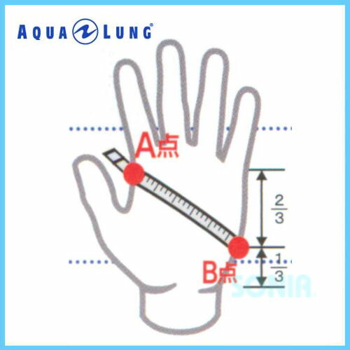 AQUALUNG(アクアラング)5743mmサーモグローブThemoClineGloves
