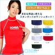 SONIA(ソニア) 【フェイサー】 ラッシュガード 半袖【ロゴ有】