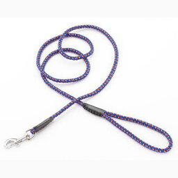 ペティオ Bネオンリード 15 中型犬用引きひも 適応体重:〜20kg Φ15mm×長さ160cm ブルー