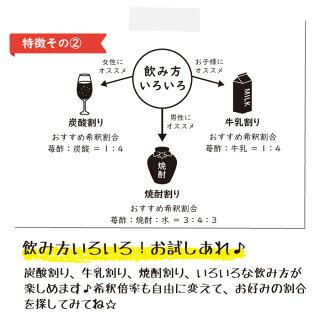 完熟苺酢5Lの特徴その2