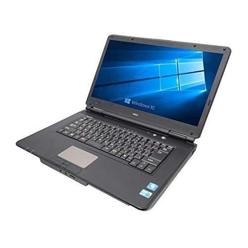 【中古】外付きテンキー付き【Microsoft Office2016搭載】【Windows 10搭載】NEC VersaPro VK25 /第三世代Core i5 2.50GHz/メモリ 15.6インチ 大画面/無線LAN/DVD/中古ノートパソコン (HDD320GB メモリ4GB) (中古マウス付き)(新品メモリー:8GB+新品SSD:480GB)選択可能