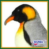 HANSA ハンサ ぬいぐるみ7091 キングペンギン 22 KINGPENGUIN