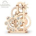 Ugears ユーギアーズ 木製組立立体パズル ダイナモメーター