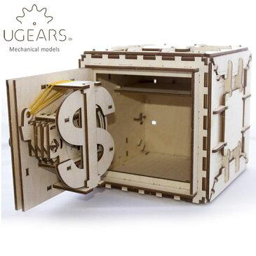 Ugears ユーギアーズ 木製組立立体パズル 金庫