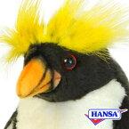 HANSA ハンサ ぬいぐるみ7116 マカロニペンギン MACARONI PENGUIN