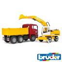 bruder ブルーダー プロシリーズ 02751 MANトラック&LHショベル 1/16