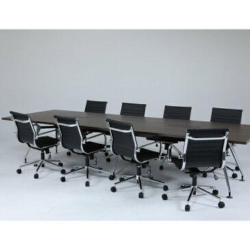 送料無料 セット商品 ミーティングチェア テーブル セット GD-647-827 幅3200 イス チェア 会議 テーブル 会議用椅子 ミーティング用 デスク スタックチェア 事務 椅子 ワークチェア オフィスチェア チェア 机 高級感 リプロダクト イームズ オフィス家具