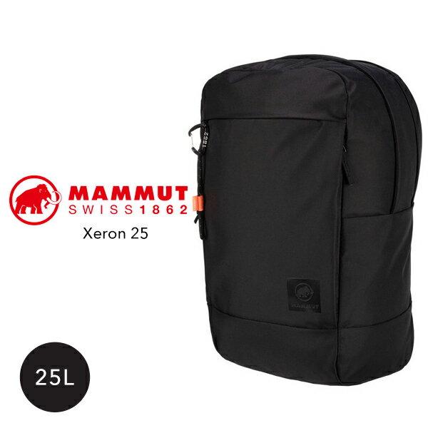 正規取扱品  MAMMUT マムートXeron25Lゼオンリュックリュックサックバックパック黒ブラックメンズレディースユニ