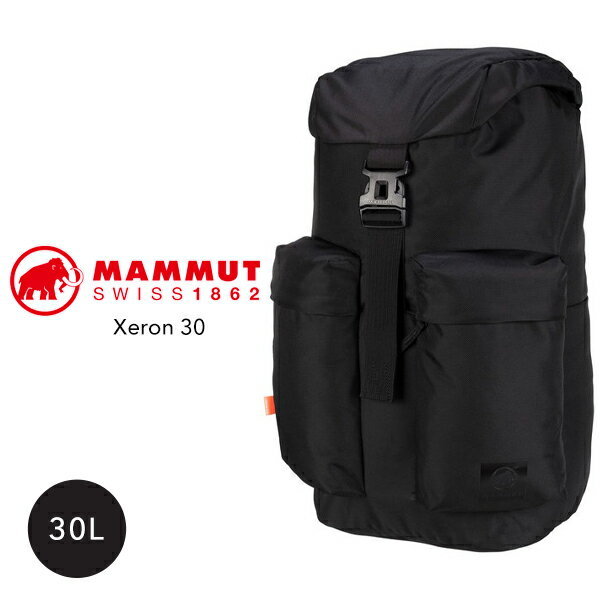 正規取扱品  MAMMUT マムートXeron25Lゼオン30Lリュックリュックサックバックパック黒ブラックメンズレディー
