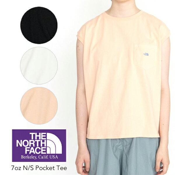 トップス, Tシャツ・カットソー SALE THE NORTH FACE PURPLE LABEL 7oz NS Pocket Tee Ws 7 NTW3114 T