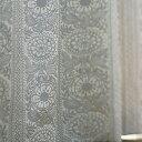 【フィンレイソン】 遮光カーテン タイミ 巾100×丈200cm(1枚入) BA7706-95/BA7706-65 花柄 モダン レトロ モダン 遮光2級 子供部屋 一人暮らし カーテン ウォッシャブル カーテン 北欧 遮光