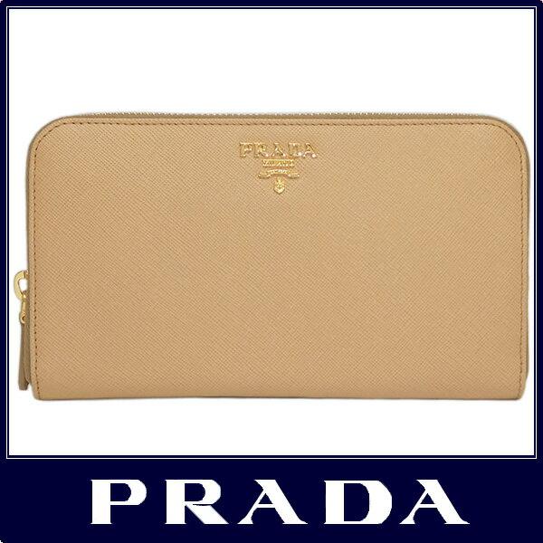 5592da86d54f 期間限定販売PRADA プラダ ラウンドファスナー 長財布 サフィアーノ ...