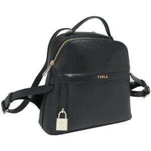 Furura FURLA Piper S Рюкзак 2020 весна лето Новый рюкзак BAHY ARE O60 1057346 PIPER S BACK PACK NERO Чёрный Чёрный Дамы [Бесплатная упаковка подарков] [Простая упаковка Giff] [Новый новый неиспользованный подлинный]