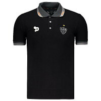 アトレチコミネイロ公式ポロシャツ【ATLETICOMINEIRO】|ブラック