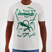 パルメイラスグラフィックデザインTシャツホワイト【PALMEIRAS公式】PUMA