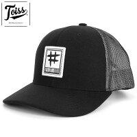 【TOISS】トイス#パッチメッシュキャップスナップバックブラックネイマールブランド