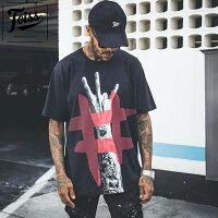 【TOISS】トイス#ハンドデザインTシャツブラックネイマールブランド