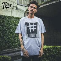 【TOISS】トイス#バーコードTシャツグレーネイマールブランド