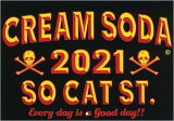 CREAMSODAクリームソーダ CS 2021年カレンダーPD21GS-01