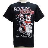 CREAMSODAクリームソーダ TE ROCK'N Holiday TシャツTE17T-02