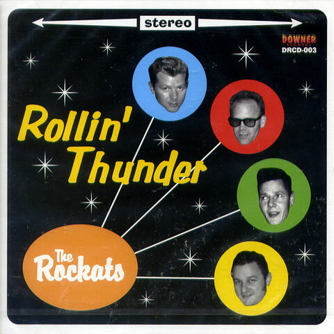 Image result for The Rockats - Rollin' Thunder