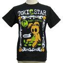 TOXIC STARタクシックスター TOXIC CARTA半袖Tシャツ[ C ]TXS-T138