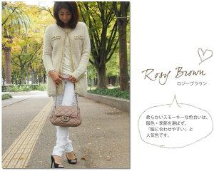 キルティングチェーンバッグ本革【Betty】ポシェット/マトラッセ/ブラック/レザー