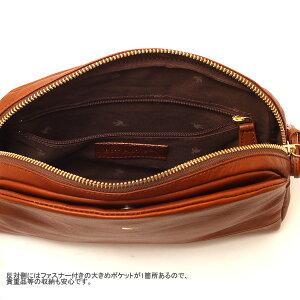 【sotpistie】ピケットラウンドミニショルダーバッグ/leatherminishoulderbag