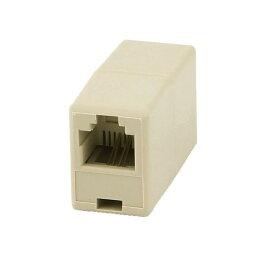 ソウテン RJ11 電話コネクター プラグ アダプター コネクタ