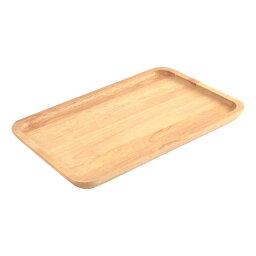 ソウテン 皿 トレイ レストラン ホテル 木製木目パターン 長方形 食物 飲料 30 x 20 x 2cm