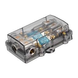 ソウテン ミニ - ANLヒューズホルダー 60A 4/8ゲージインラインミニANL 1入力-3出力